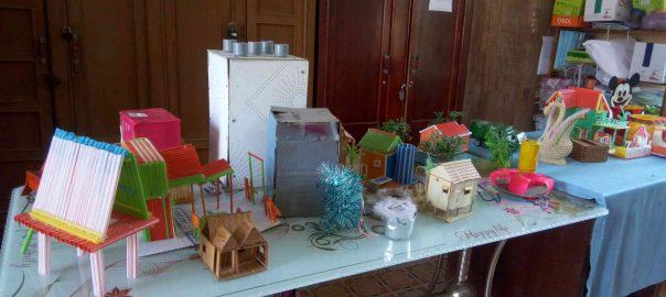 Sản phẩm dự thi sáng tạo thanh thiếu niên nhi đồng cấp trường năm học 2018 - 2019